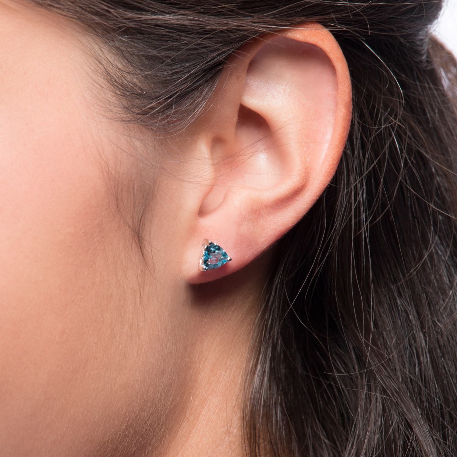 Oravo Sterling Silver Trillion Cut Earrings On Free Shipping Orders Over 45 9313430