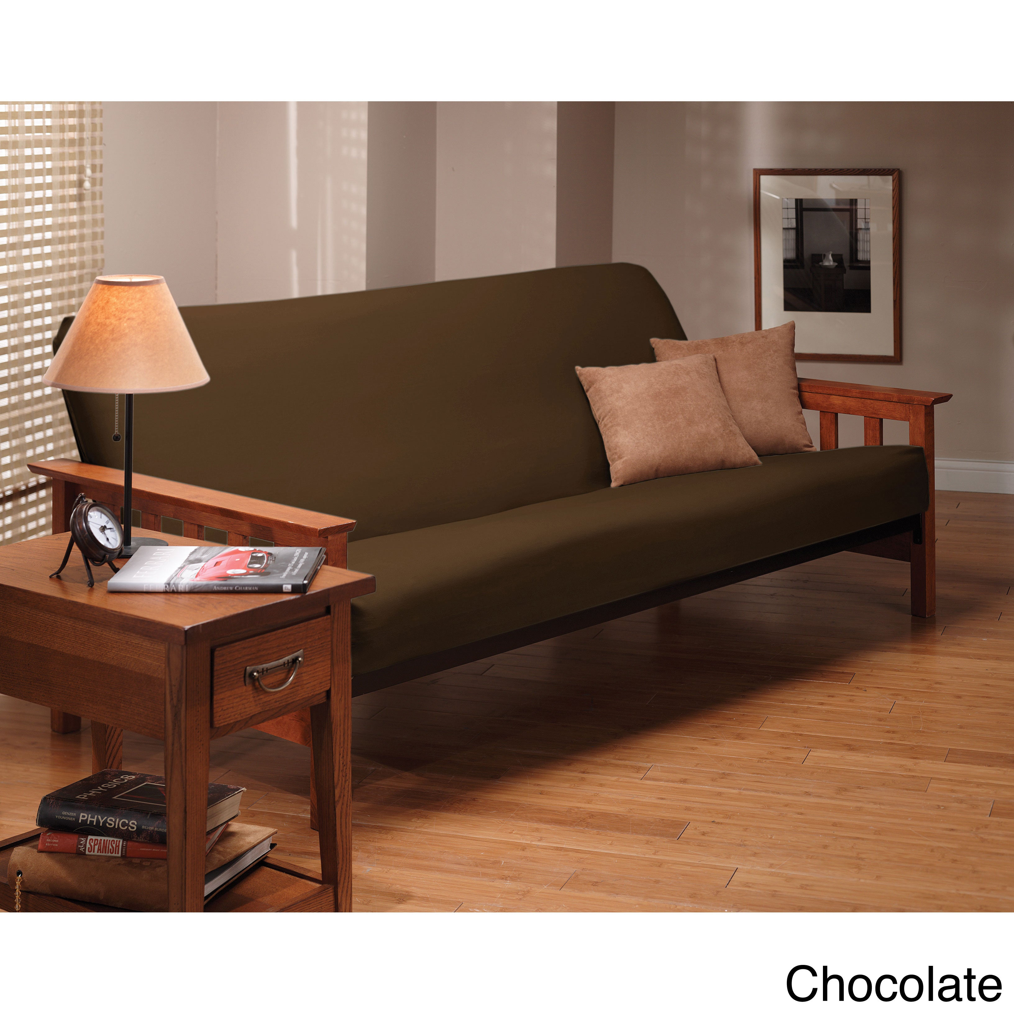 Stretch Leather Futon Slipcover Free Shipping Orders Over $45