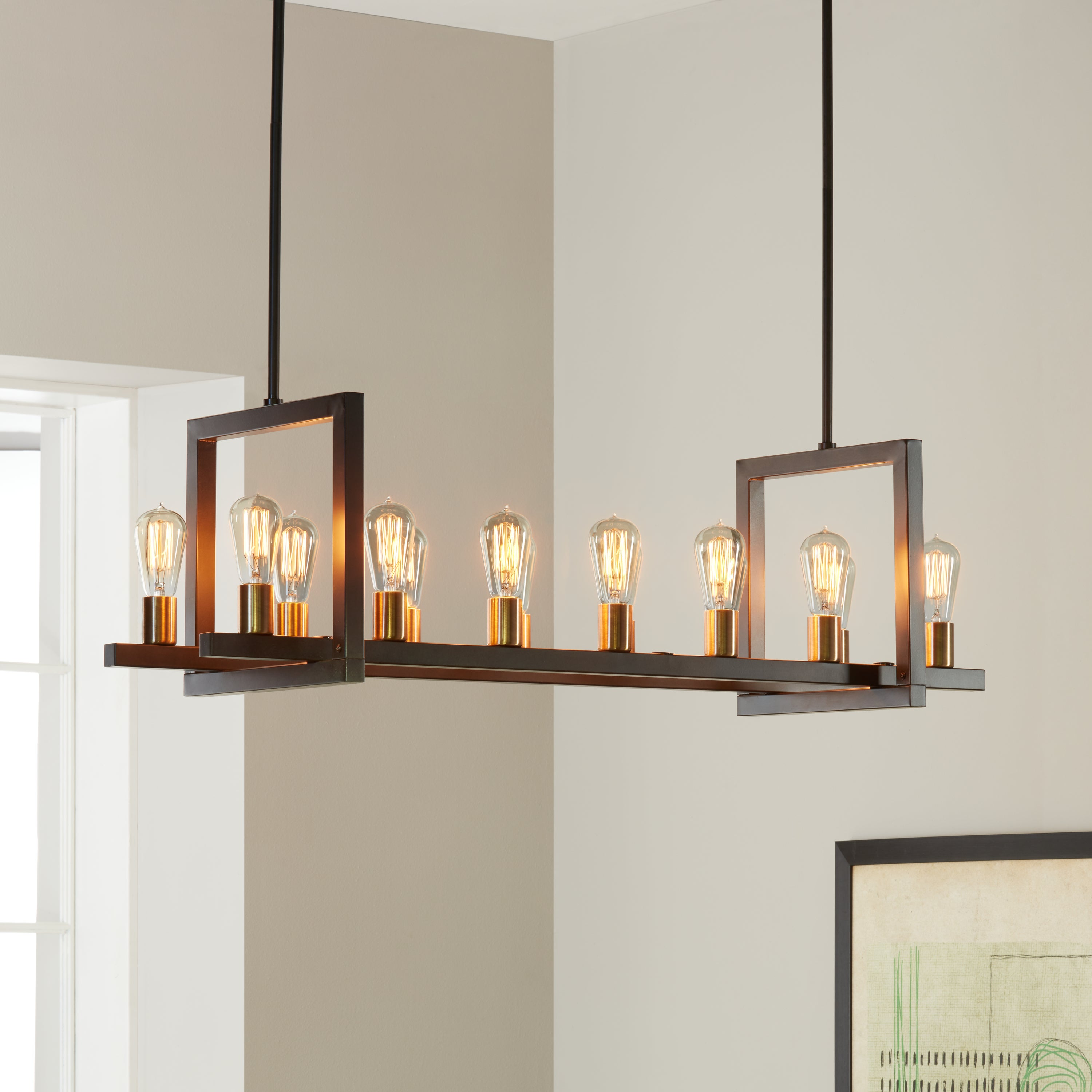 Griffin rectangular 14 light chandelier free shipping today griffin rectangular 14 light chandelier free shipping today overstock 16476925 arubaitofo Gallery