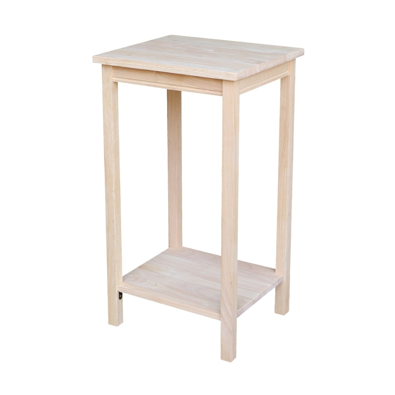 The Gray Barn Moonshine Unfinished Accent Table Free Shipping Today 19856383