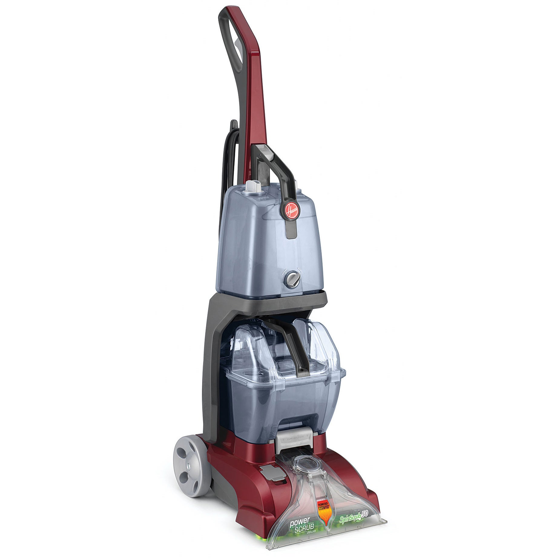 Shop Hoover Fh50150 Power Scrub Deluxe Carpet Cleaner Free Bissell Proheat 2x Parts Diagram Car Interior Design Shipping Today 9316790