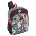 Super Mario and Friends Lenticular 16-Inch Backpack