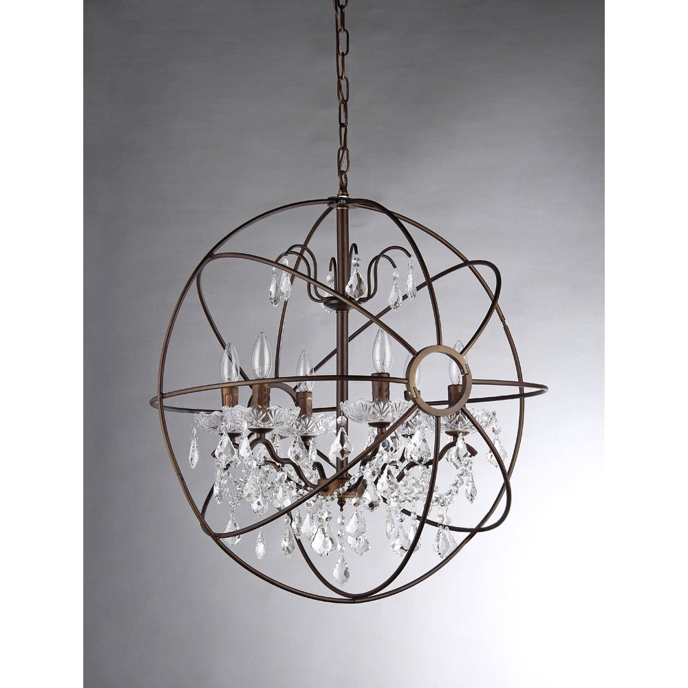 Edwards antique bronze and crystal 24 inch sphere chandelier free edwards antique bronze and crystal 24 inch sphere chandelier free shipping today overstock 16479075 aloadofball Gallery