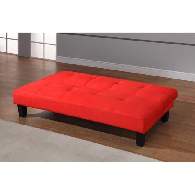 Klik Klak Tufted 2 Position Sofa Bed   Free Shipping Today   Overstock.com    16479341