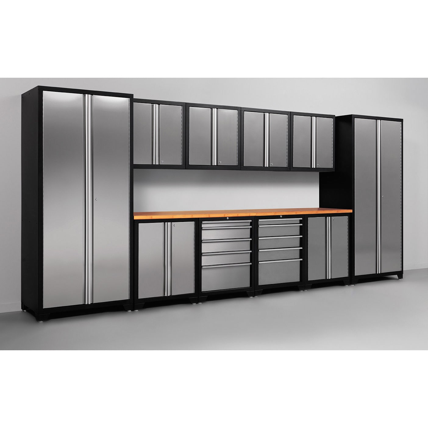 NewAge Products Pro Stainless Steel 12 Piece Cabinetry Set   Free Shipping  Today   Overstock   16481390