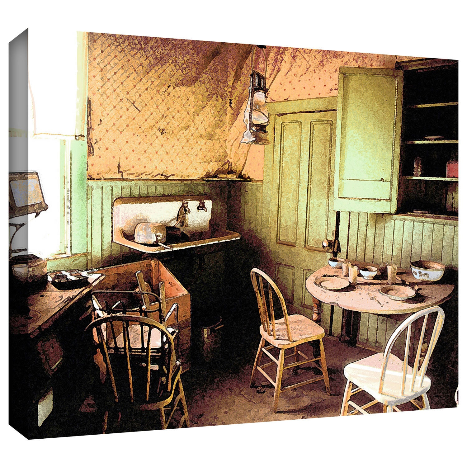 Dean Uhlinger \'Ghost Kitchen\' Gallery-wrapped Canvas - Free ...