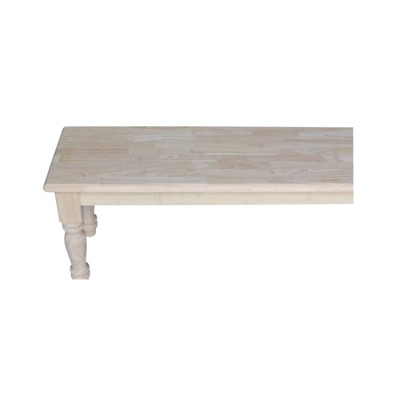 Shop Laurel Creek Hayes Unfinished Farmhouse Dining Bench   Free Shipping  Today   Overstock.com   19856184