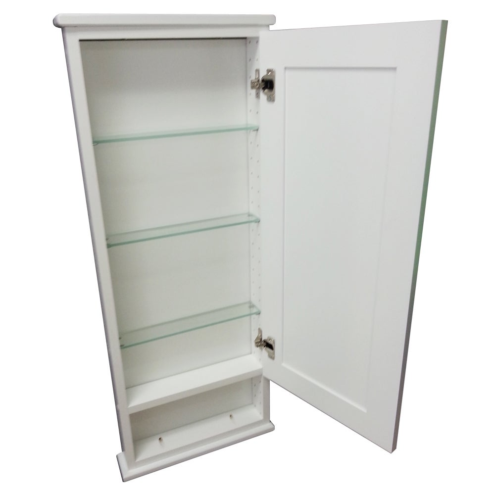 Shop 30 Inch Alexander Series On The Wall Cabinet With 6 Inch Open Shelf  2.5 Inch Deep Inside   Free Shipping Today   Overstock.com   9330743