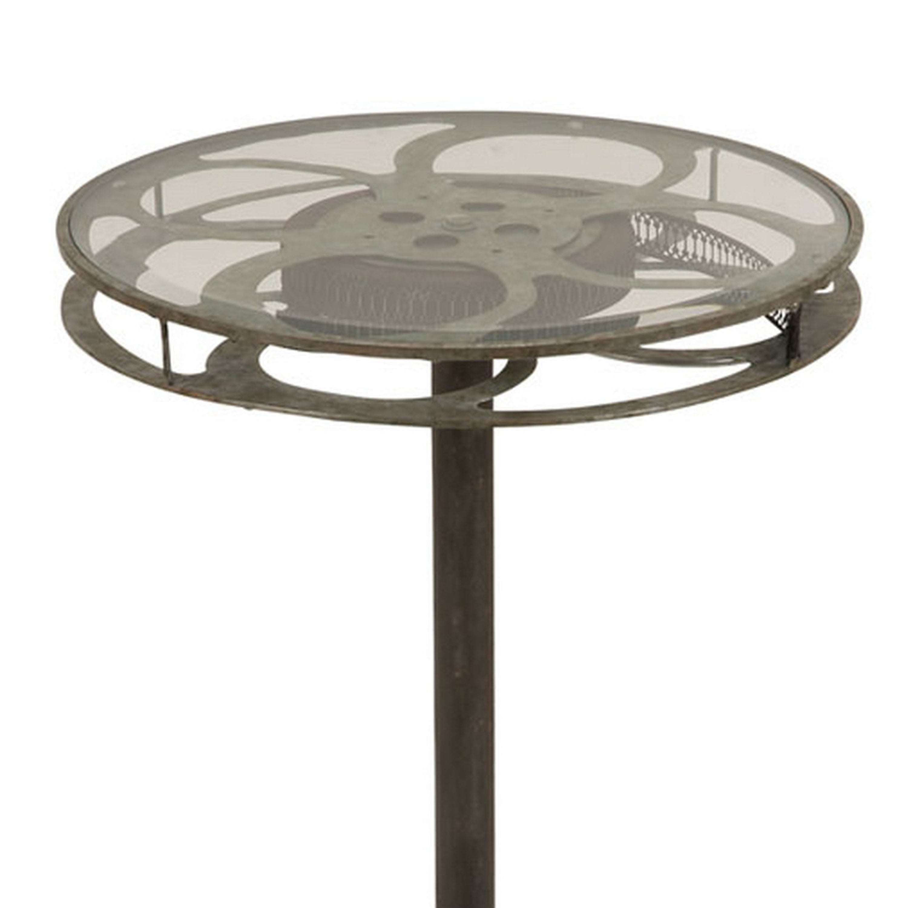 Charmant Shop Holllywood Vintage Film Reel 28 Inch Round Top Table   On Sale   Free  Shipping Today   Overstock.com   9331037