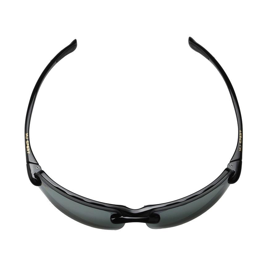 6befe9c34ed4 Maui Jim Men's 'Banyans' Black Polarized Sport Sunglasses - Free Shipping  Today - Overstock.com - 16505783