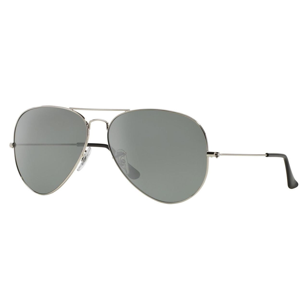 Ray-Ban Women s 3025 003 40 62 Large Silver Crystal Aviator Sunglasses c4c671cf7fe