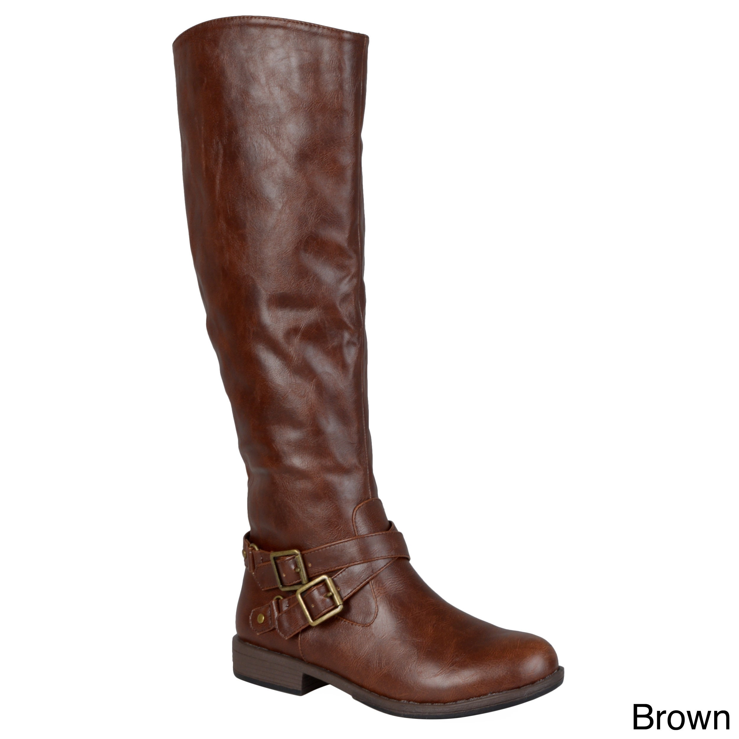 70b72e877c51 Shop Journee Collection Women s  April  Regular and Wide Calf Boot ...