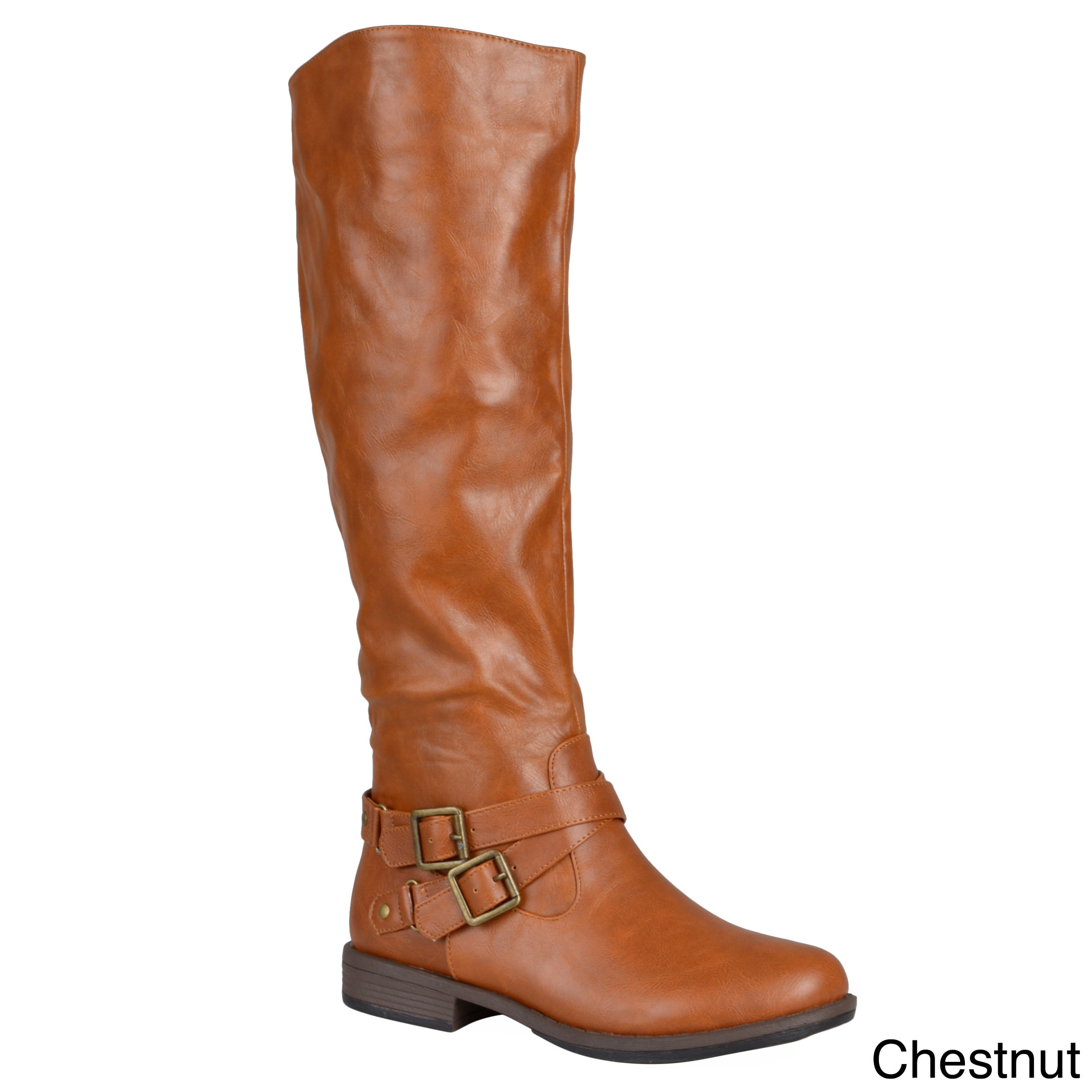 Shop Journee Collection Women S April Regular And Wide Calf Boot