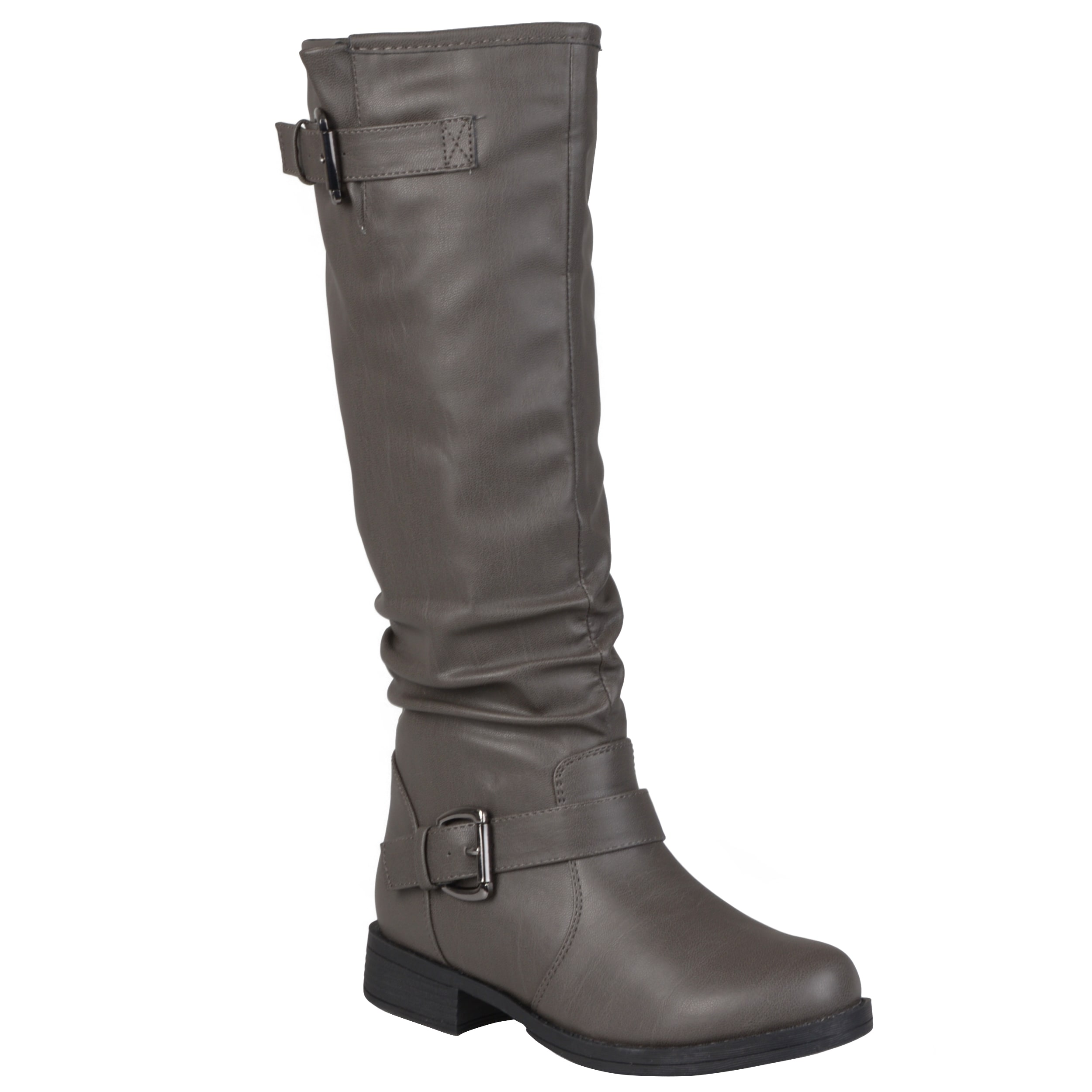 Journee Collection Women s  Stormy  Regular and Wide-Calf Riding Boot 9c2a45d205