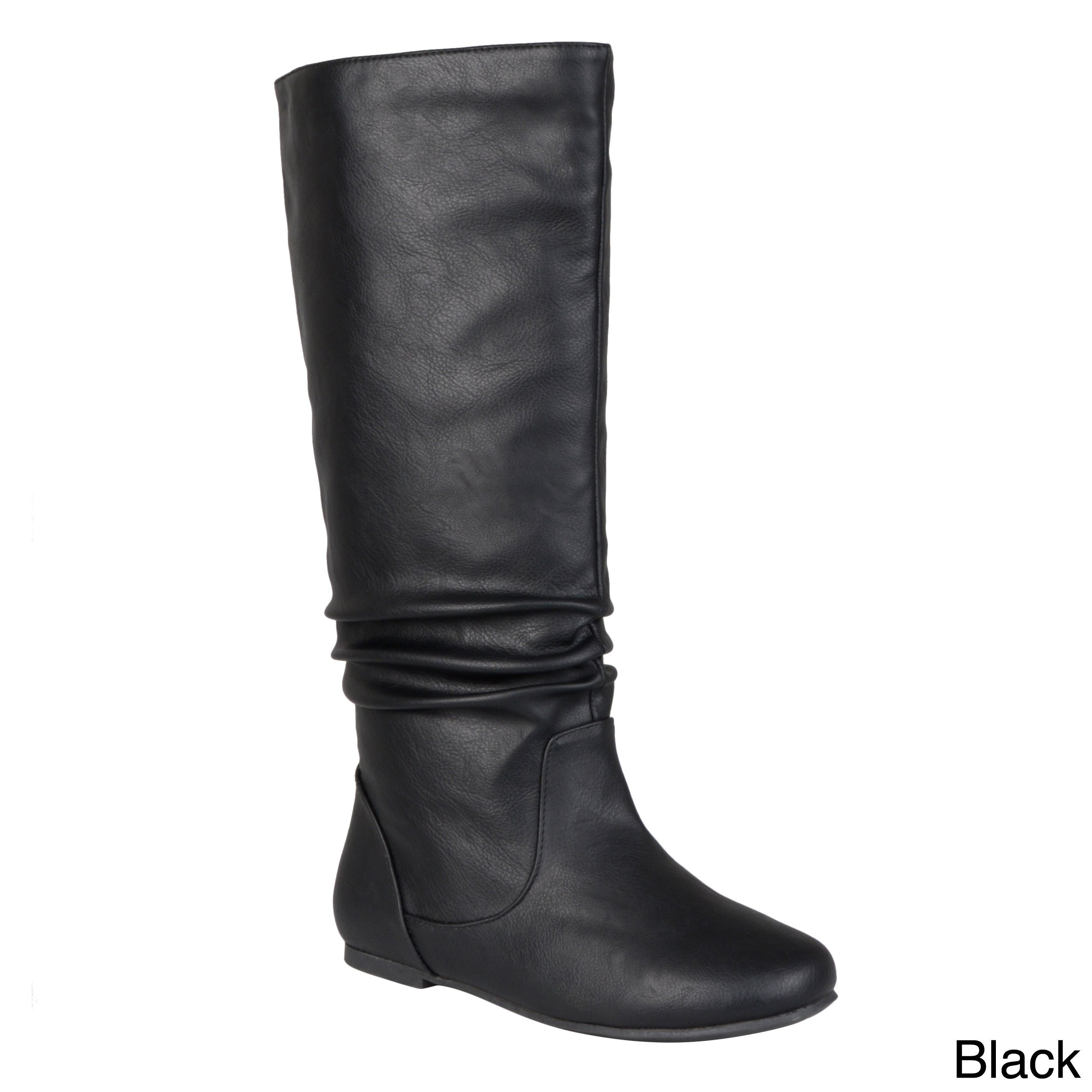Journee Collection Women s  Jayne  Regular and Wide-calf Mid-Calf Slouch Riding  Boots e537996248