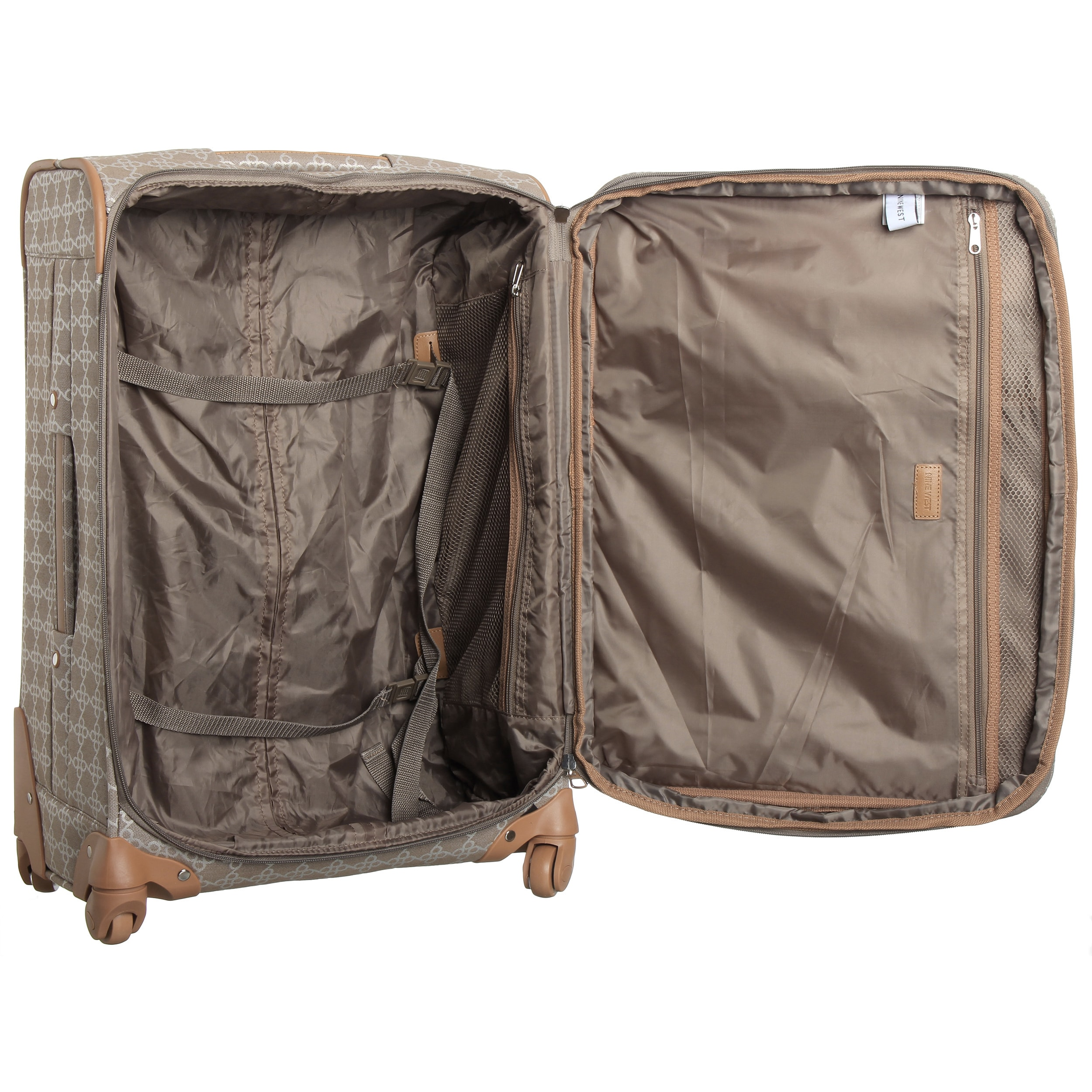 48273d9e3 Shop Nine West Addison 24-inch Medium Expandable Spinner Suitcase - Free  Shipping Today - Overstock - 9350073