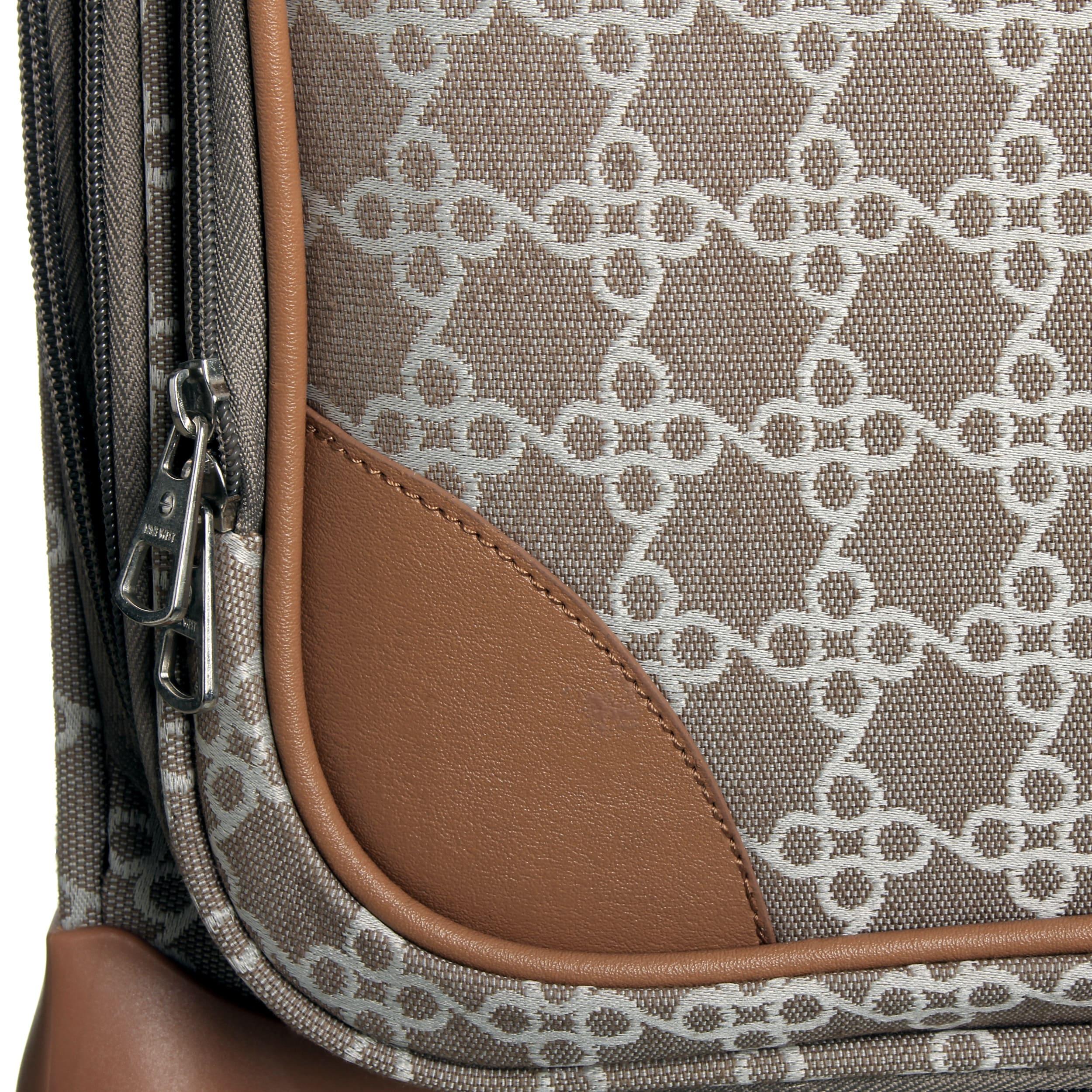 da18b956d Shop Nine West Addison 4-piece Fashion Luggage Set - Free Shipping Today -  Overstock - 9350075