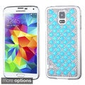 INSTEN Luxury Diamond Design Bling Shinny Hard Plastic Phone Case Cover for Samsung Galaxy S5