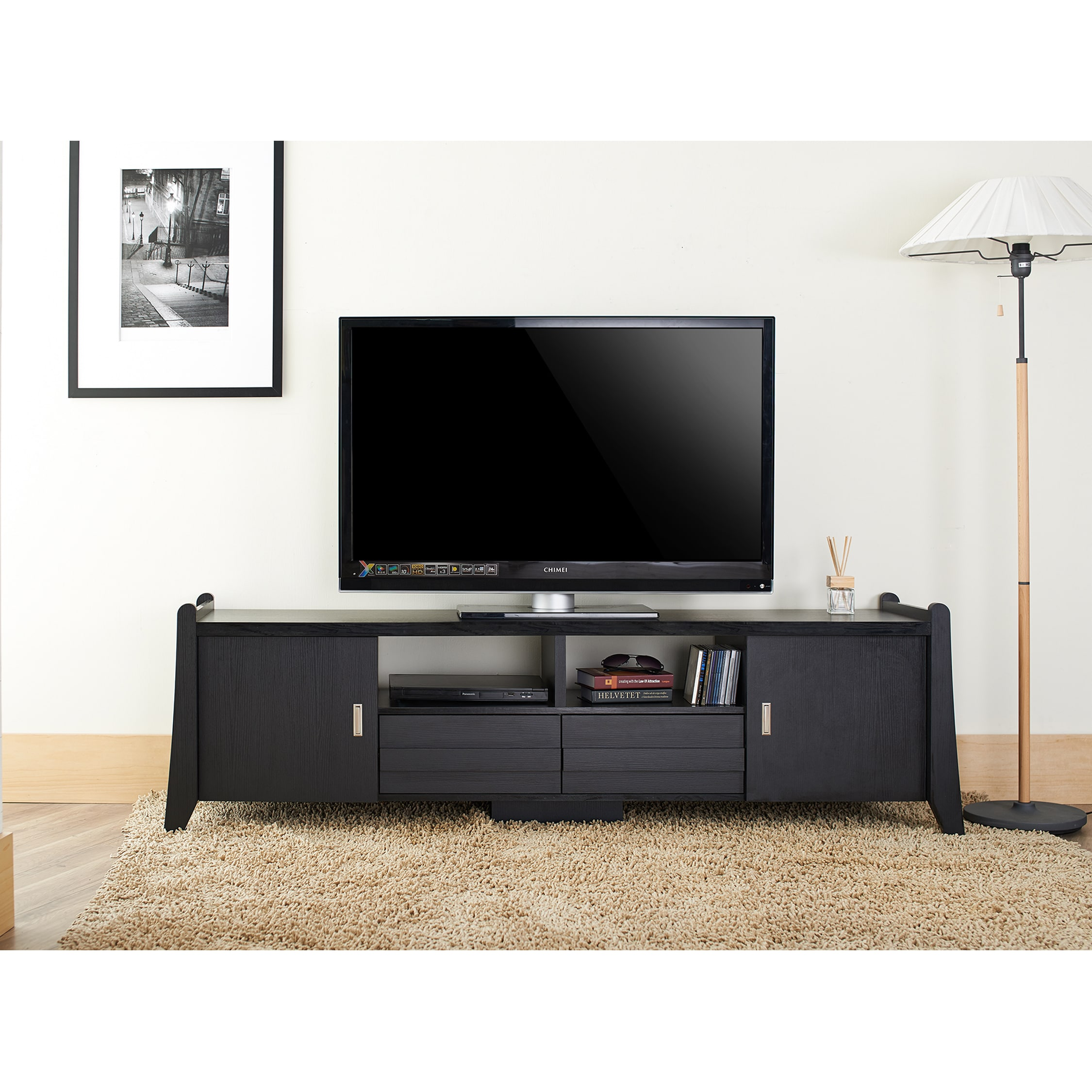 clay alder home gerald modern inch entertainment tv console  freeshipping today  overstockcom  . clay alder home gerald modern inch entertainment tv console