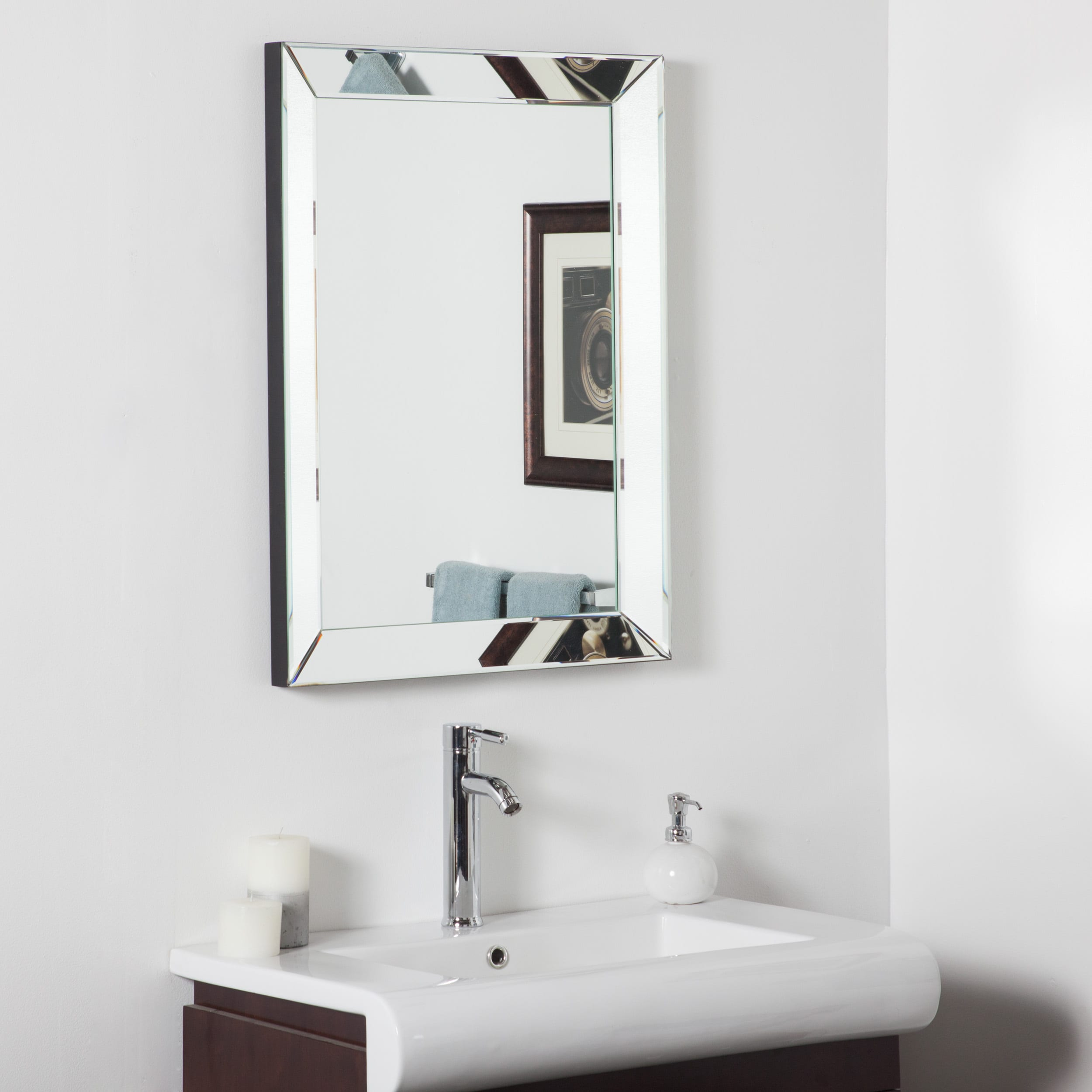Shop Mirror Framed Mirror - Free Shipping Today - Overstock.com ...