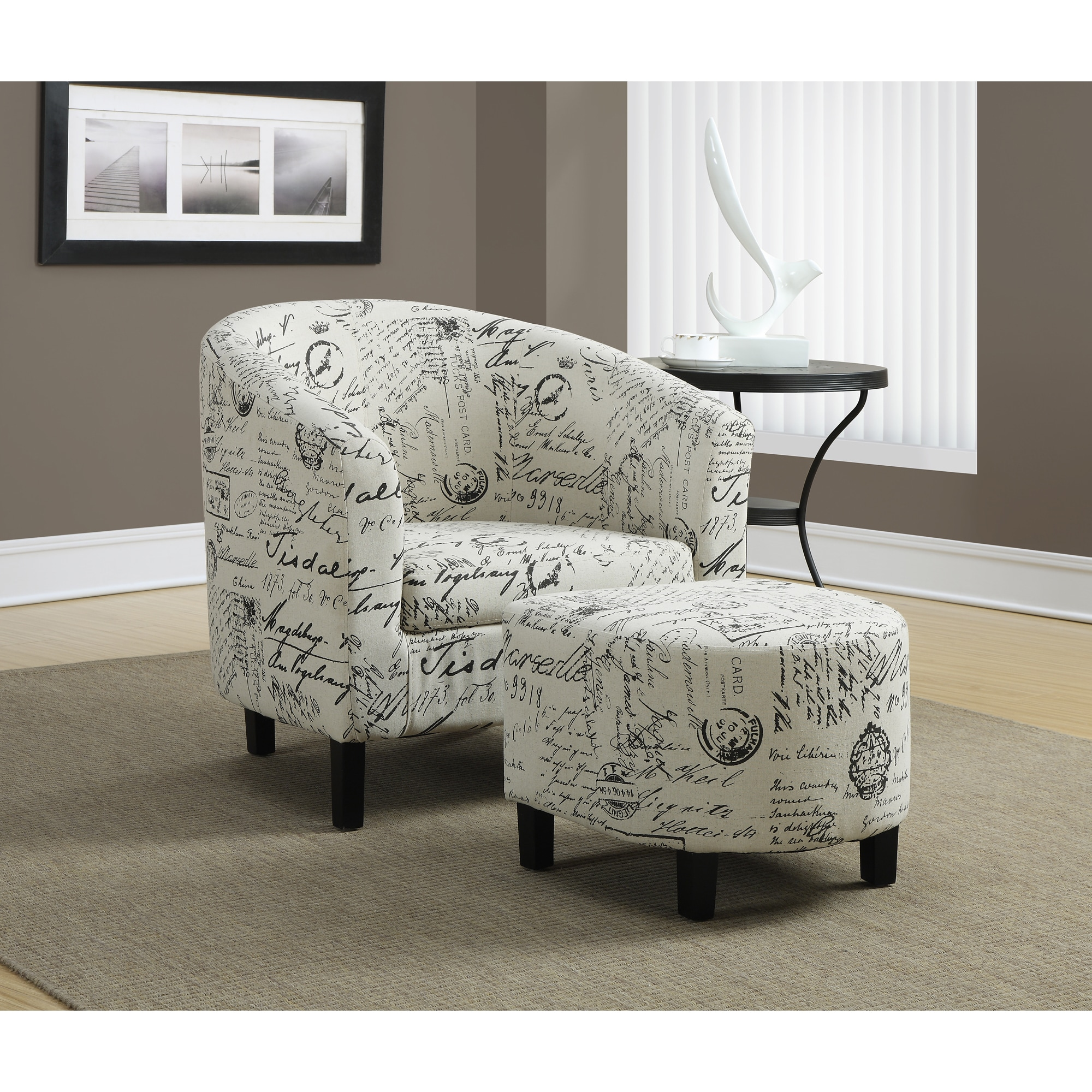 product ottomans overstock high garden home arvika button carrington tufted accent carson and chairs chair back velvet
