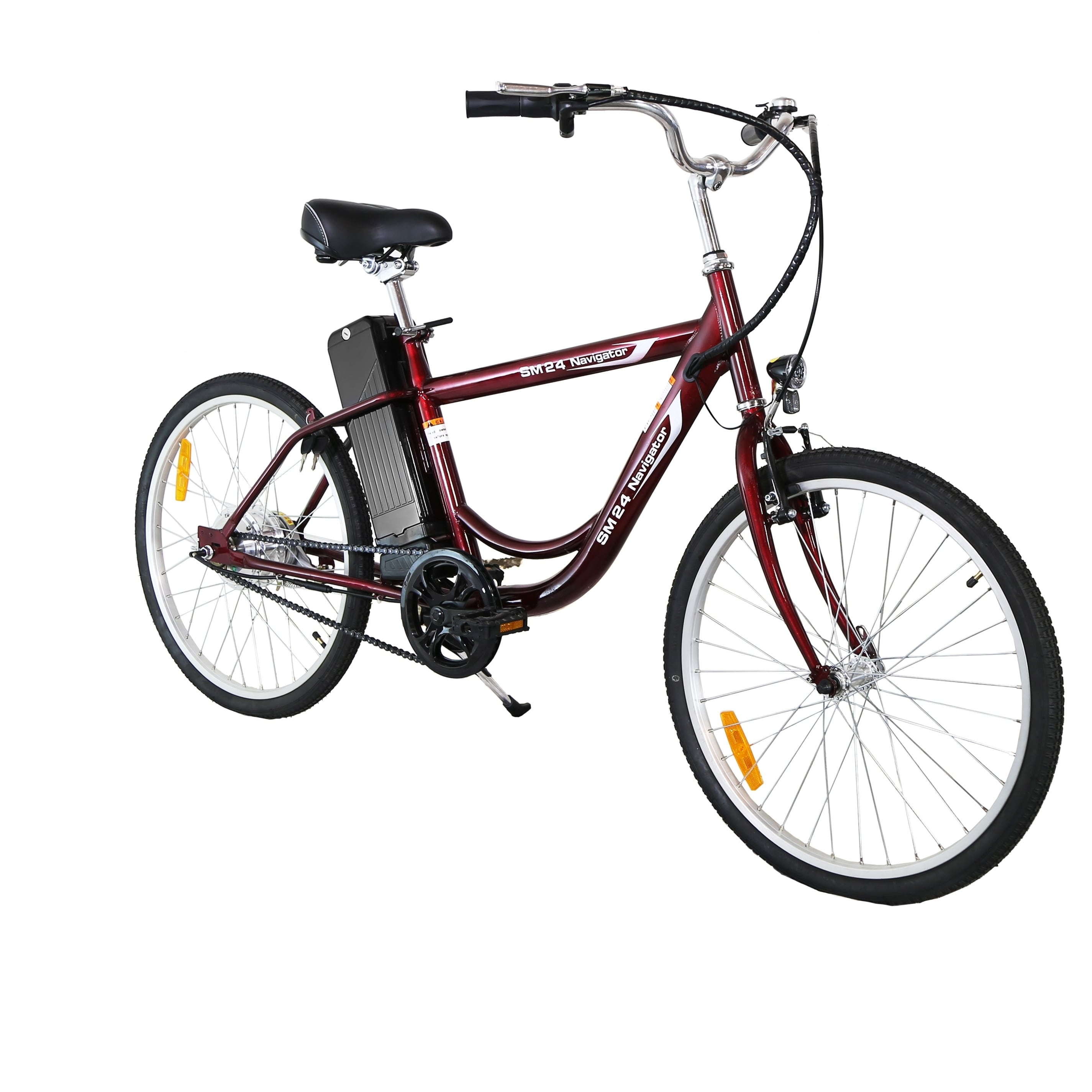 Yukon Trail Navigator Electric Bike On Free Shipping Today 9355454