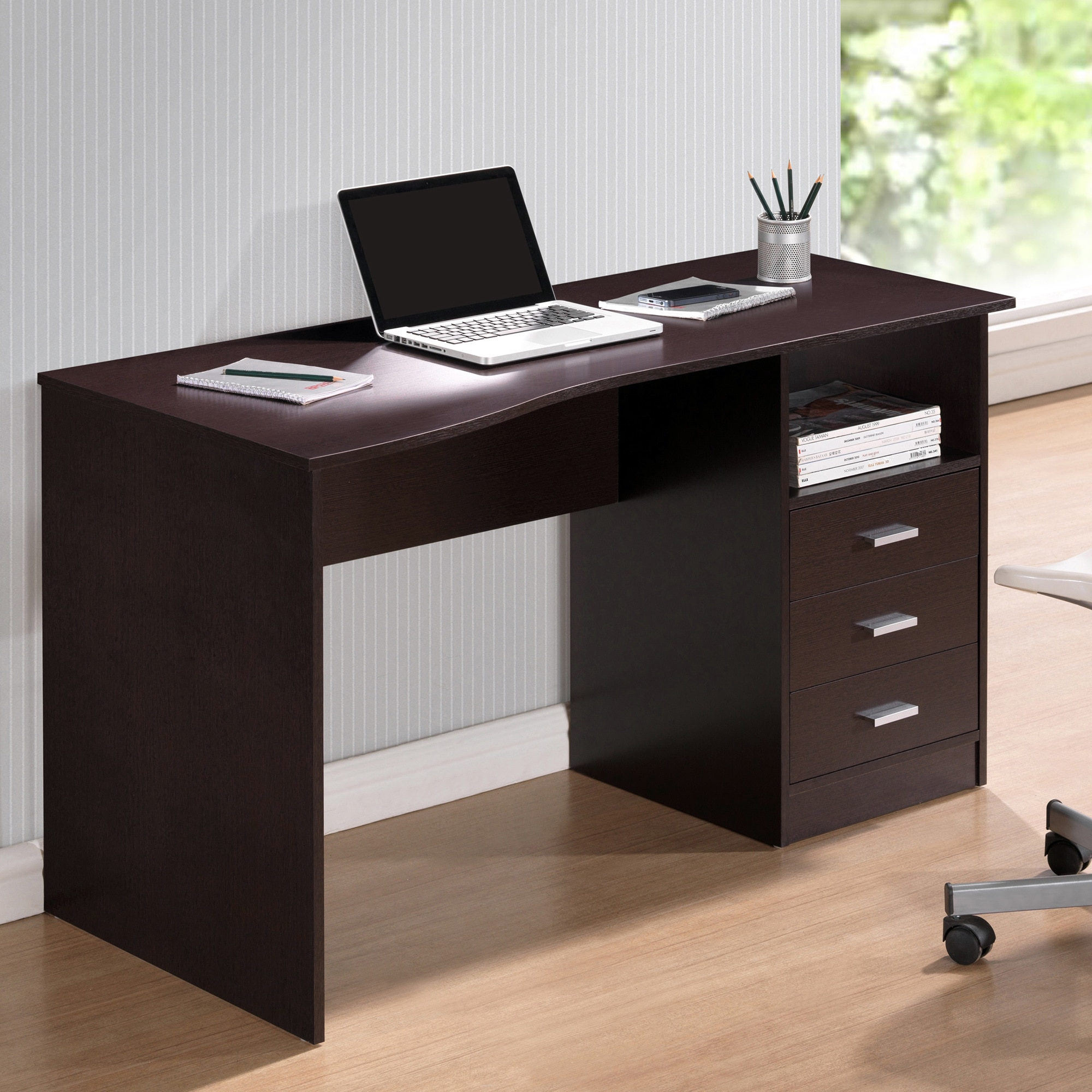 laura products drawers oak shelves desk background with white drawer james