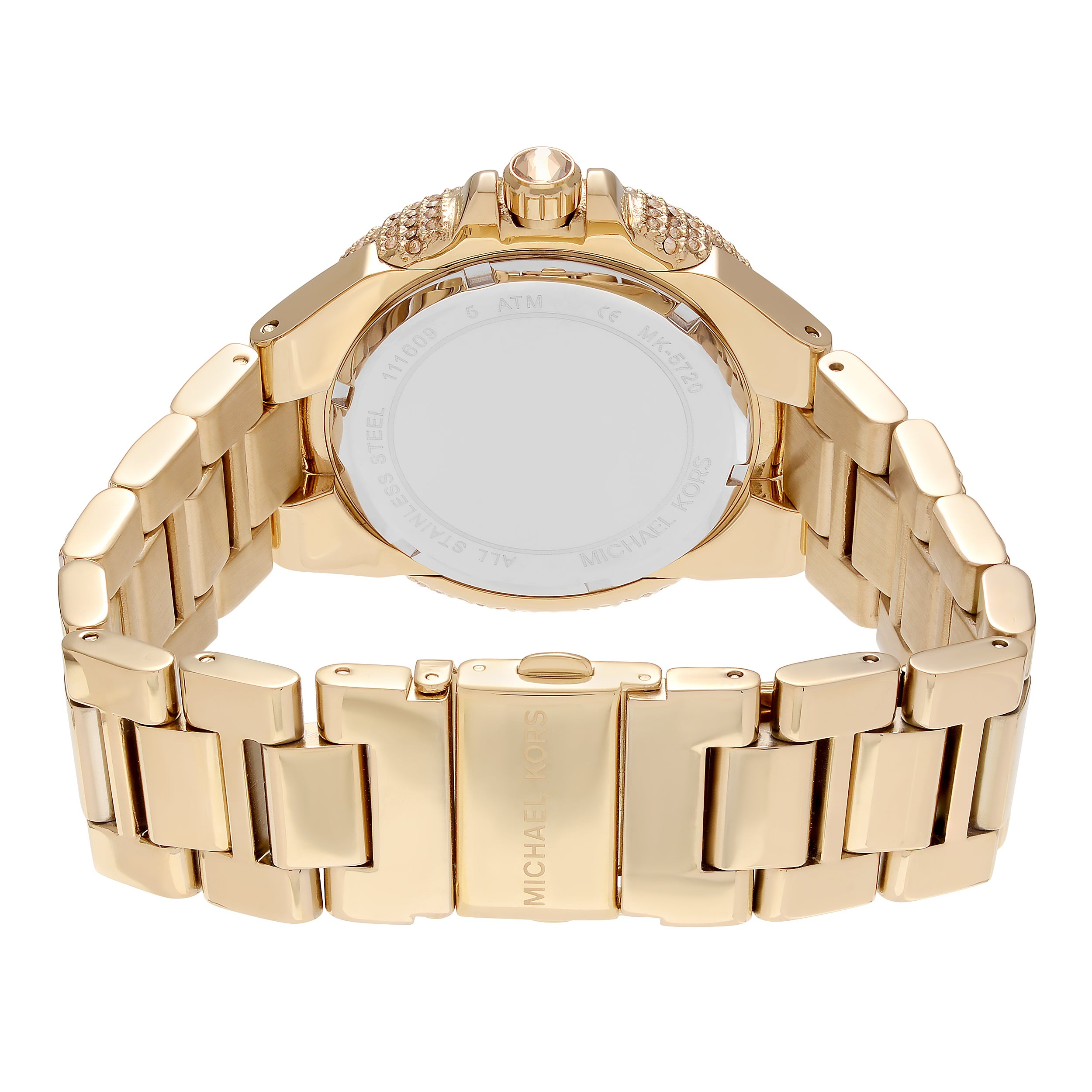 860549b19359 Shop Michael Kors Women s MK5720  Camille  Crystal Glam Goldtone Style Watch  - Free Shipping Today - Overstock - 9358308