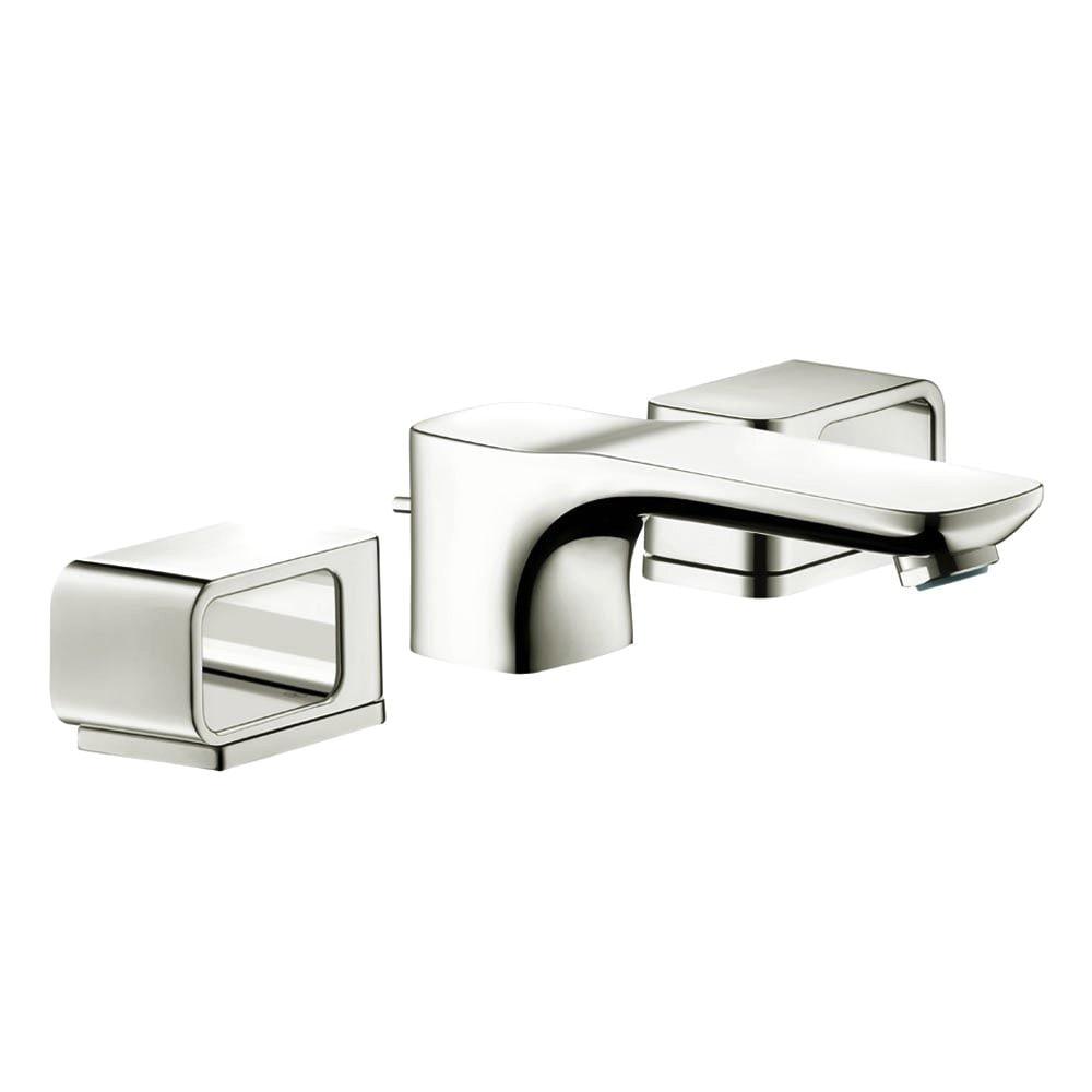 Shop Hansgrohe Axor Urquiola Polished Nickel Widespread Bathroom ...