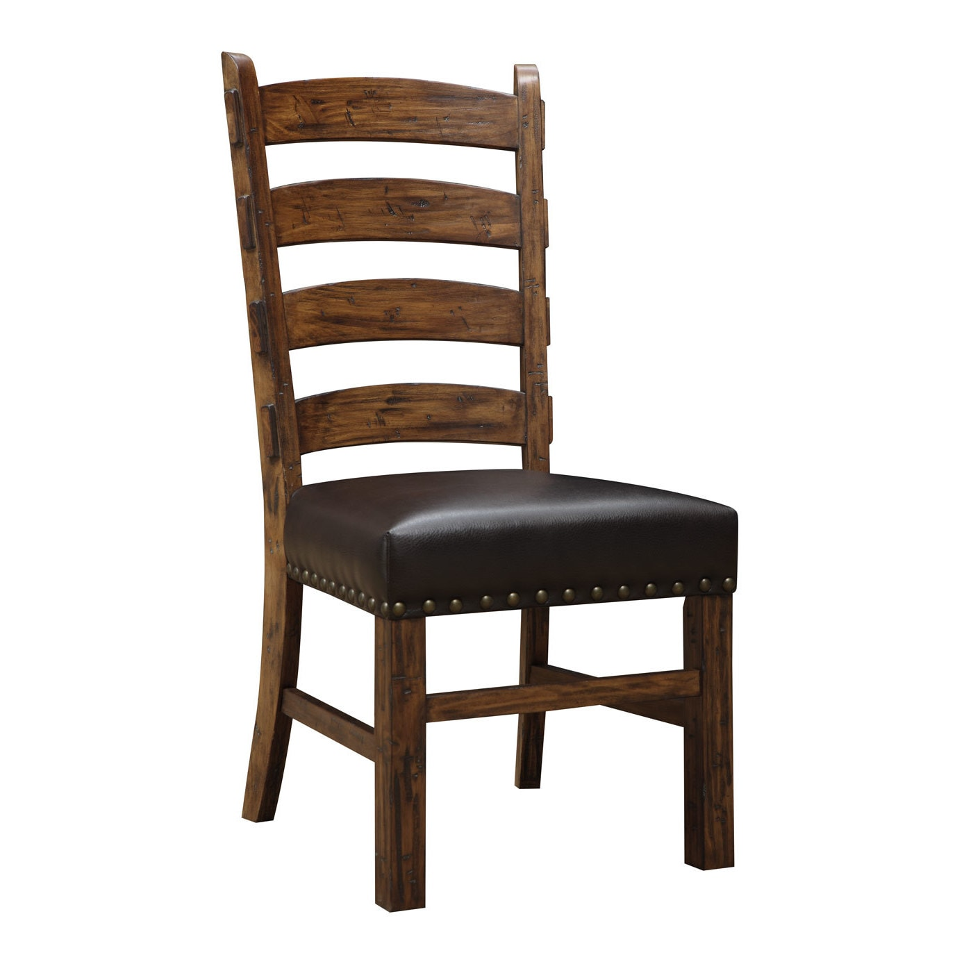 Shop Emerald Home Rustic Ladderback Dining Chair (Set of 2) - On Sale -  Free Shipping Today - Overstock.com - 9358950 - Shop Emerald Home Rustic Ladderback Dining Chair (Set Of 2) - On