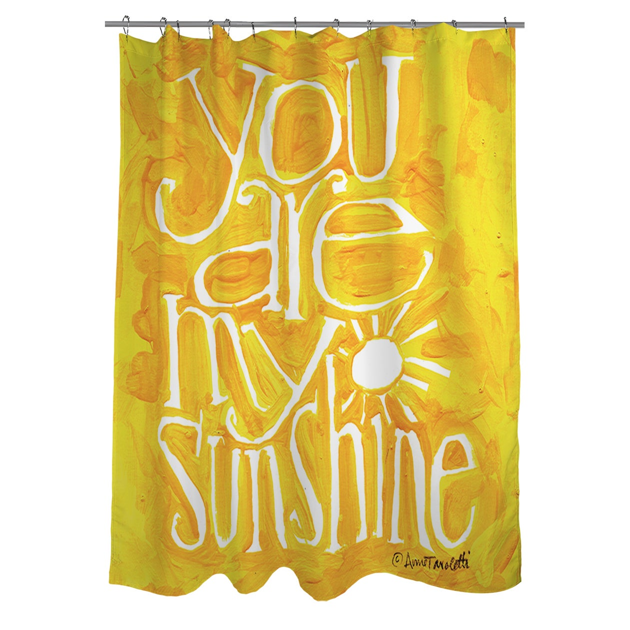 Shop You Are My Sunshine Shower Curtain - Free Shipping Today ...