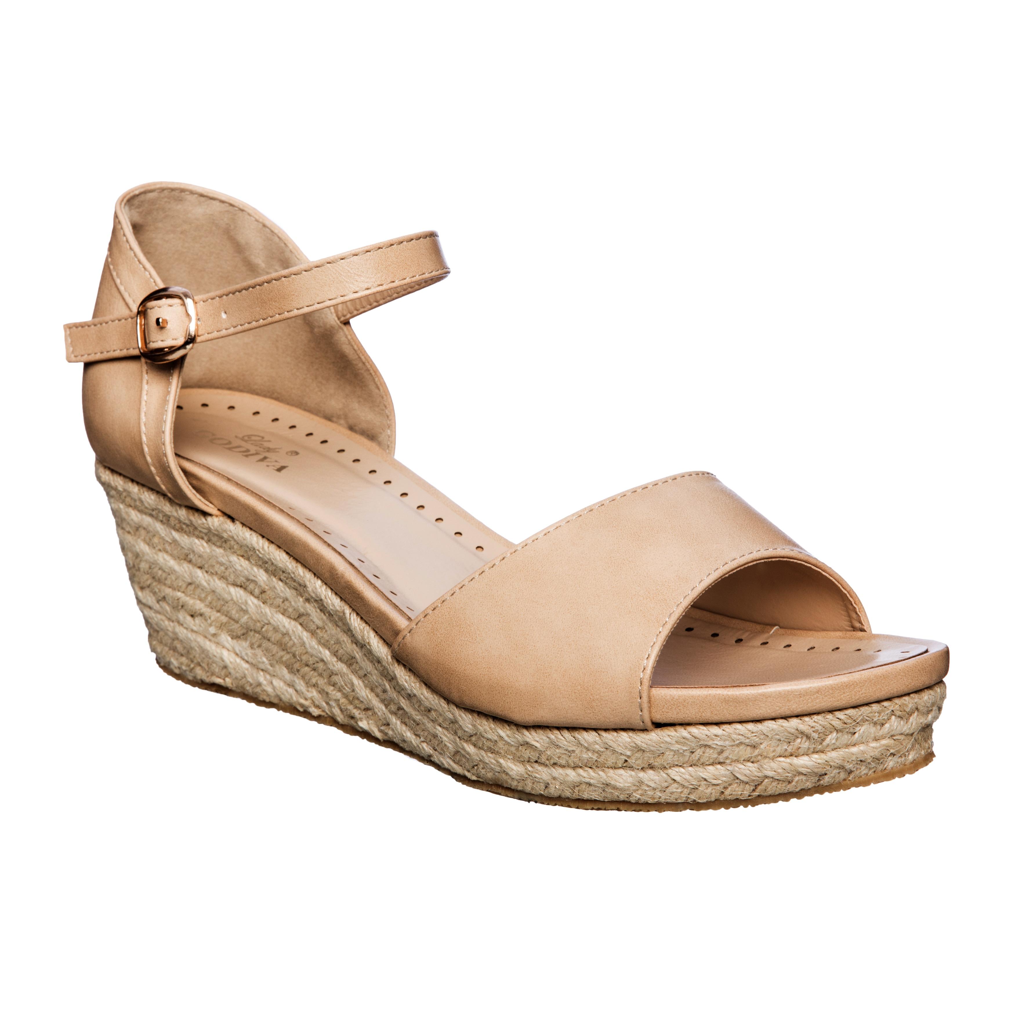 wedge cork sandals comforter classified flatform toe women city comfort s itm ankle open strap womens