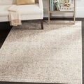 Safavieh Vintage Damask Ivory/ Grey Distressed Rug (9' x 12')