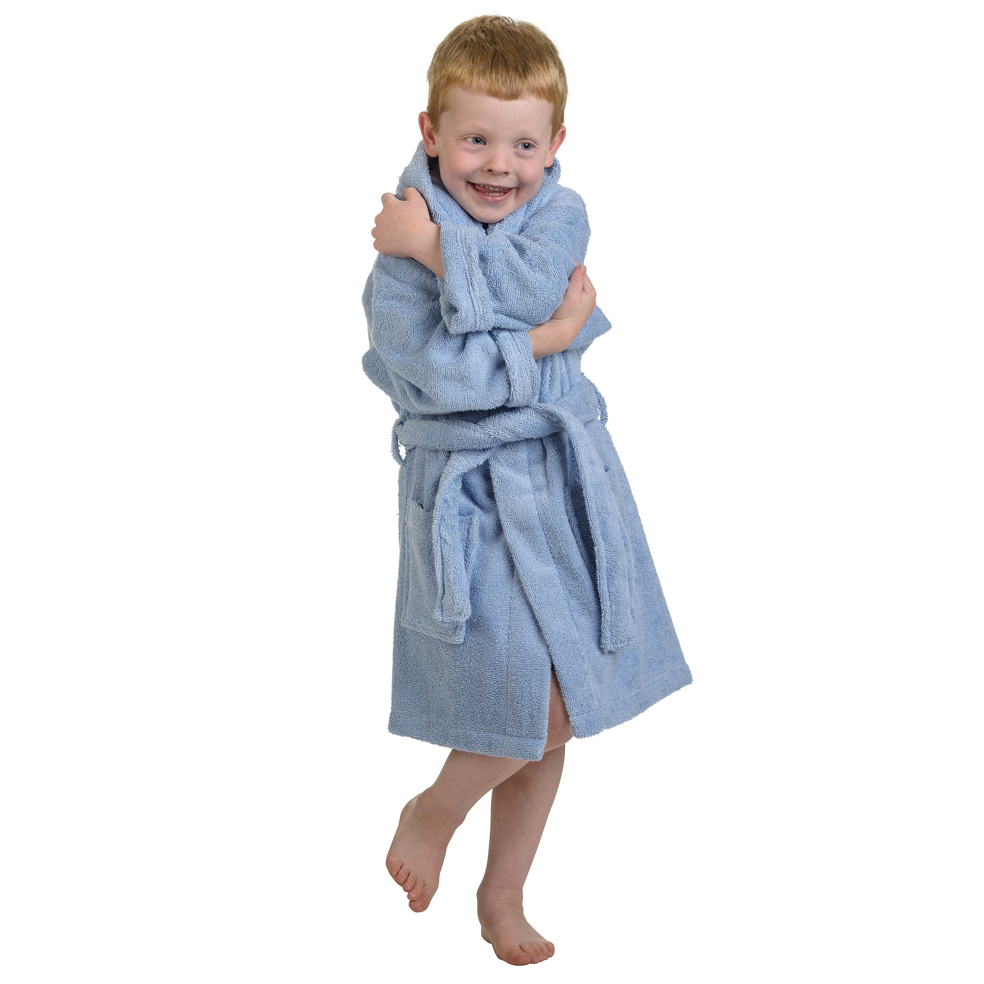 d5ebf5a7b4 Shop Superior Collection Luxurious Cotton Kids Hooded Bath Robe - On Sale -  Free Shipping On Orders Over  45 - Overstock - 9370416