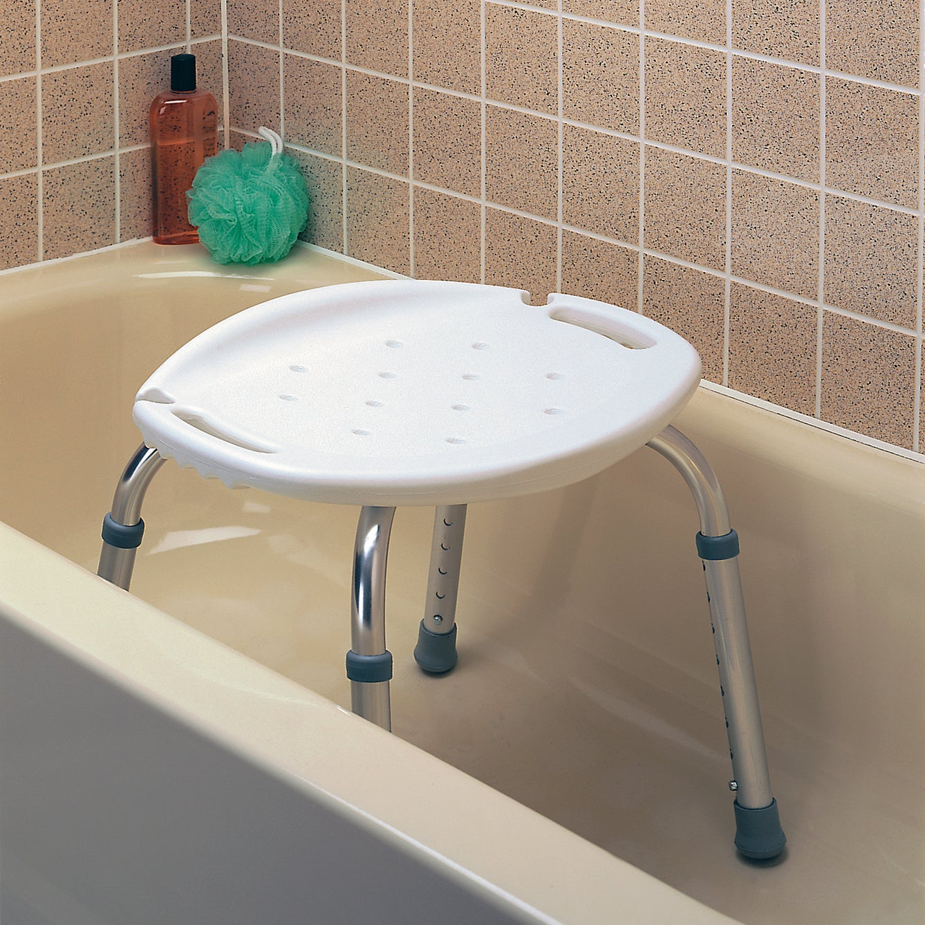 Shop Carex Adjustable Bath and Shower Seat - Free Shipping On Orders ...
