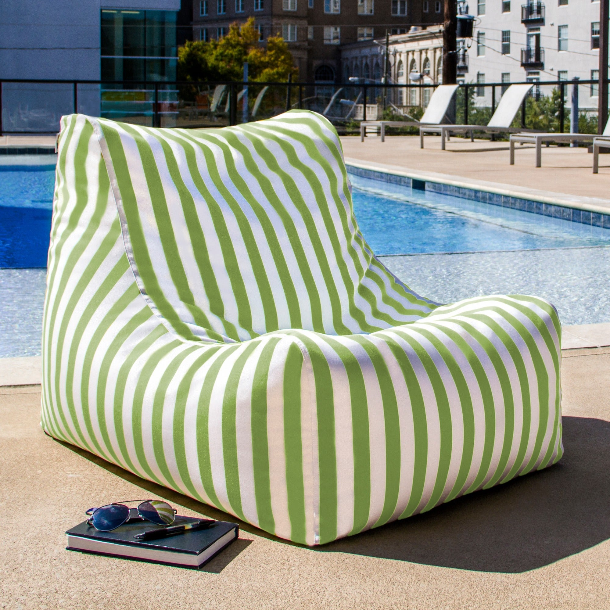 Charmant Jaxx Ponce Outdoor Bean Bag Patio Chair