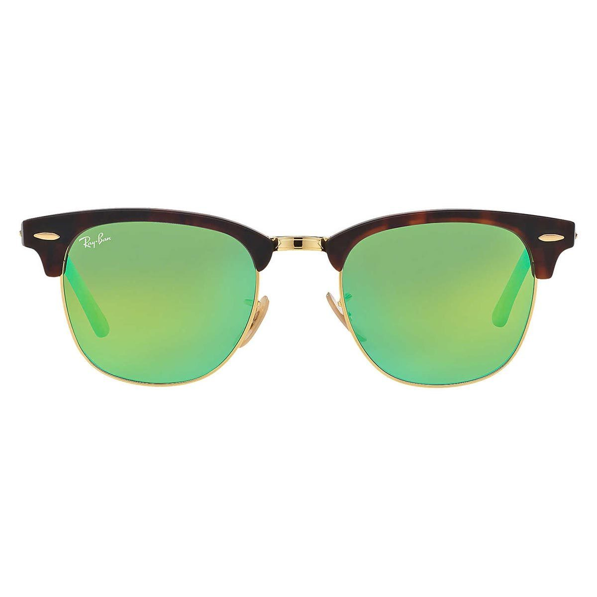 b16ff9c7c8c3cd Shop Ray-Ban Unisex  Clubmaster RB3016 114519  Round Sunglasses - Free  Shipping Today - Overstock - 9375468