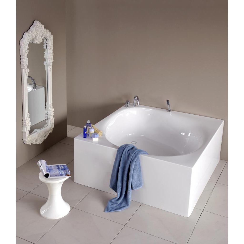 Shop Aquatica Liquid Space Freestanding Acrylic Bathtub - 55 in. L X ...