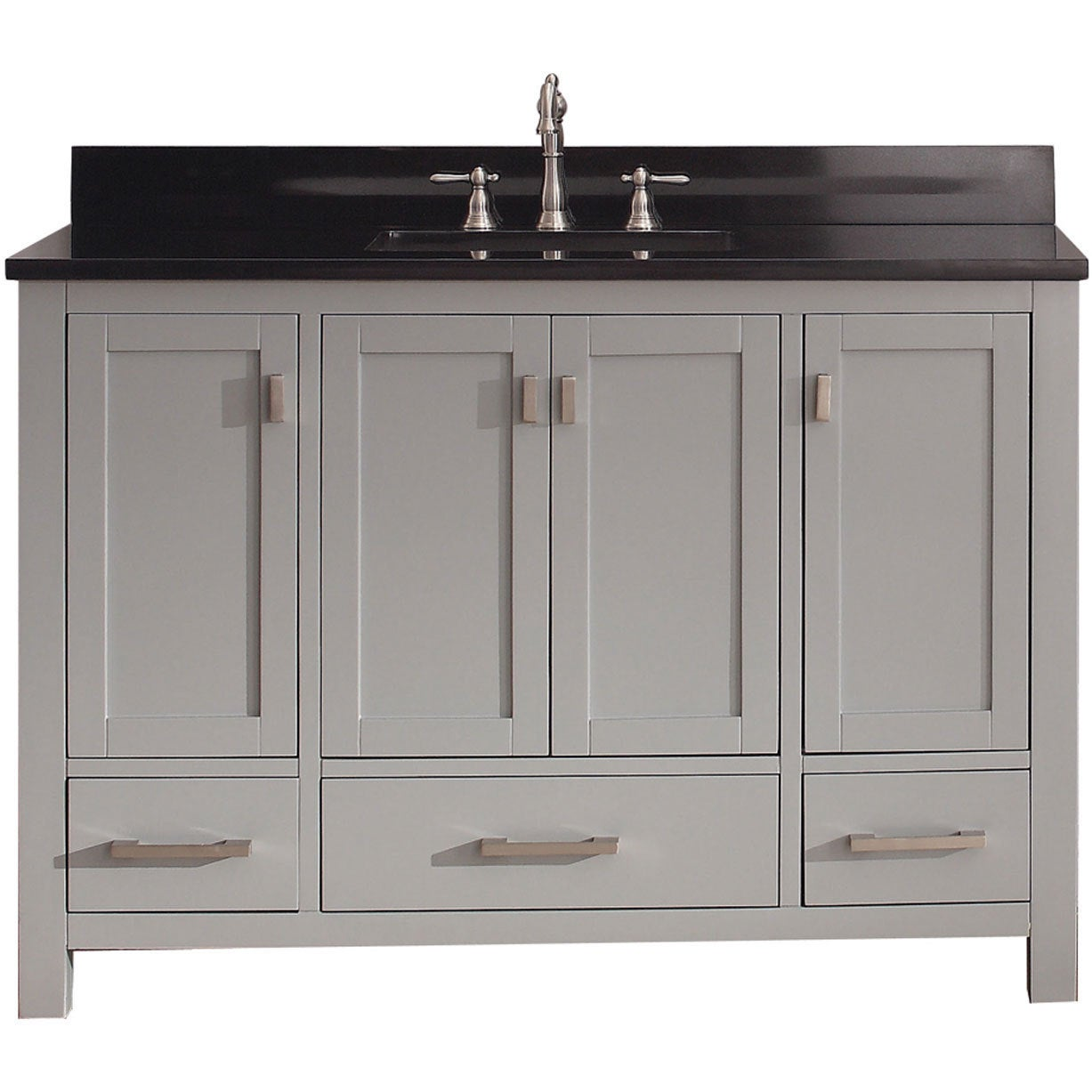 Beau Shop Avanity Modero Chilled Grey Vanity Combo   Free Shipping Today    Overstock.com   9378784