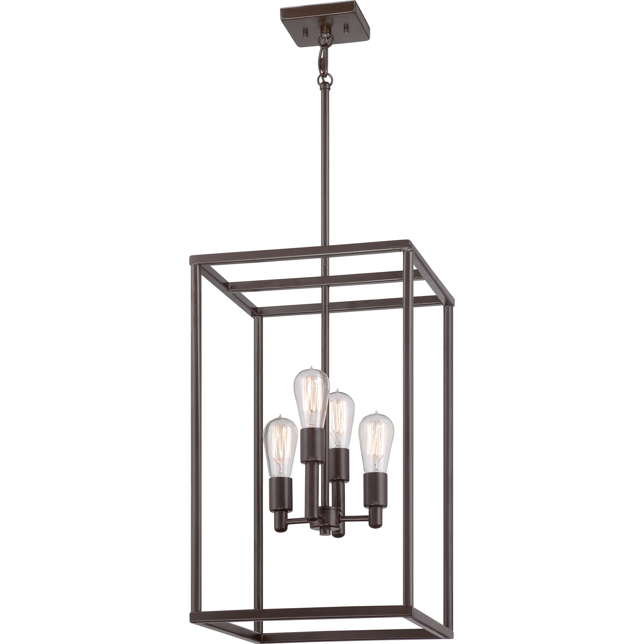 Quoizel new harbor 4 light western bronze cage chandelier free quoizel new harbor 4 light western bronze cage chandelier free shipping today overstock 16573299 arubaitofo Images
