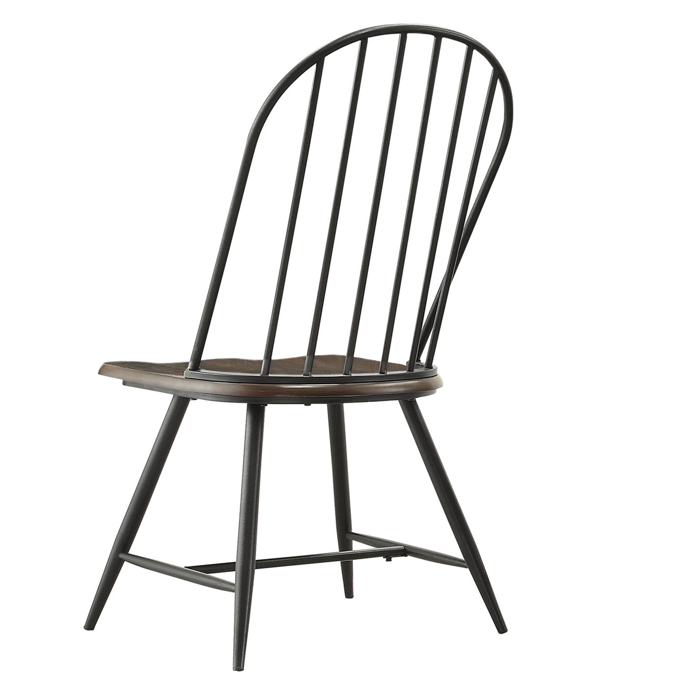 Belita Mid Century Two Tone Modern Spindle Wood Dining Chairs Set Of 4 By Inspire Q Free Shipping Today 9384261