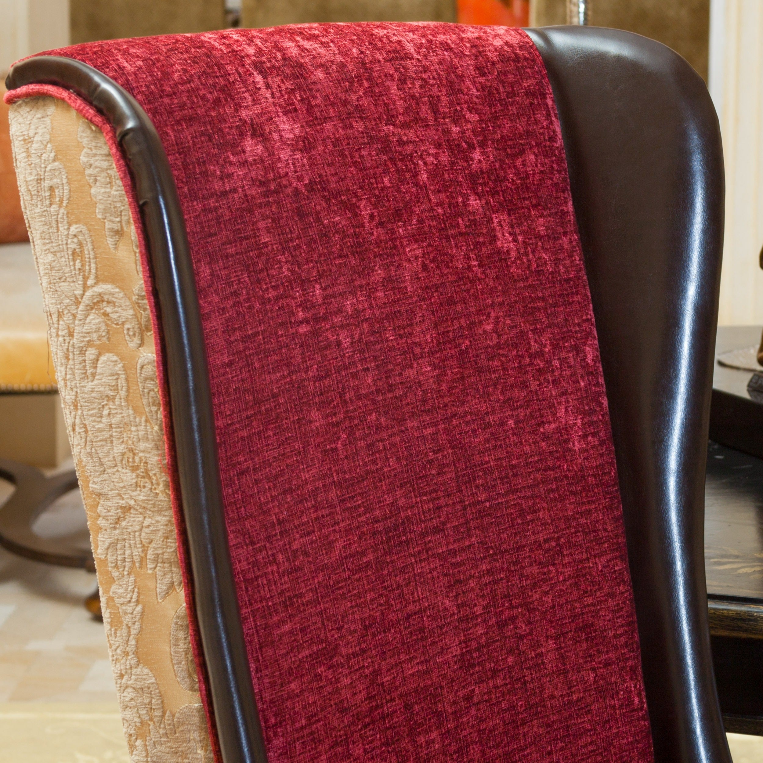 Bacall High Back Chair By Christopher Knight Home   Free Shipping Today    Overstock.com   16580805