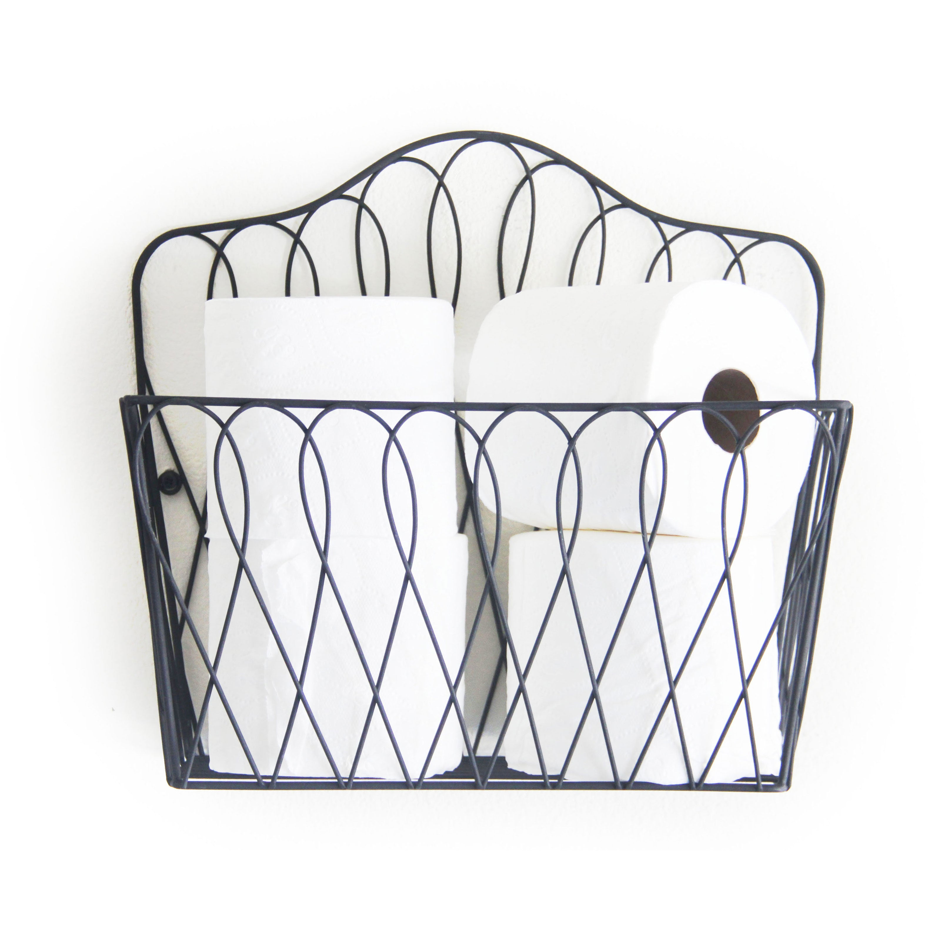 Wall-mounted Magazine Rack Fruit Basket - Free Shipping On Orders Over $45  - Overstock.com - 16585177