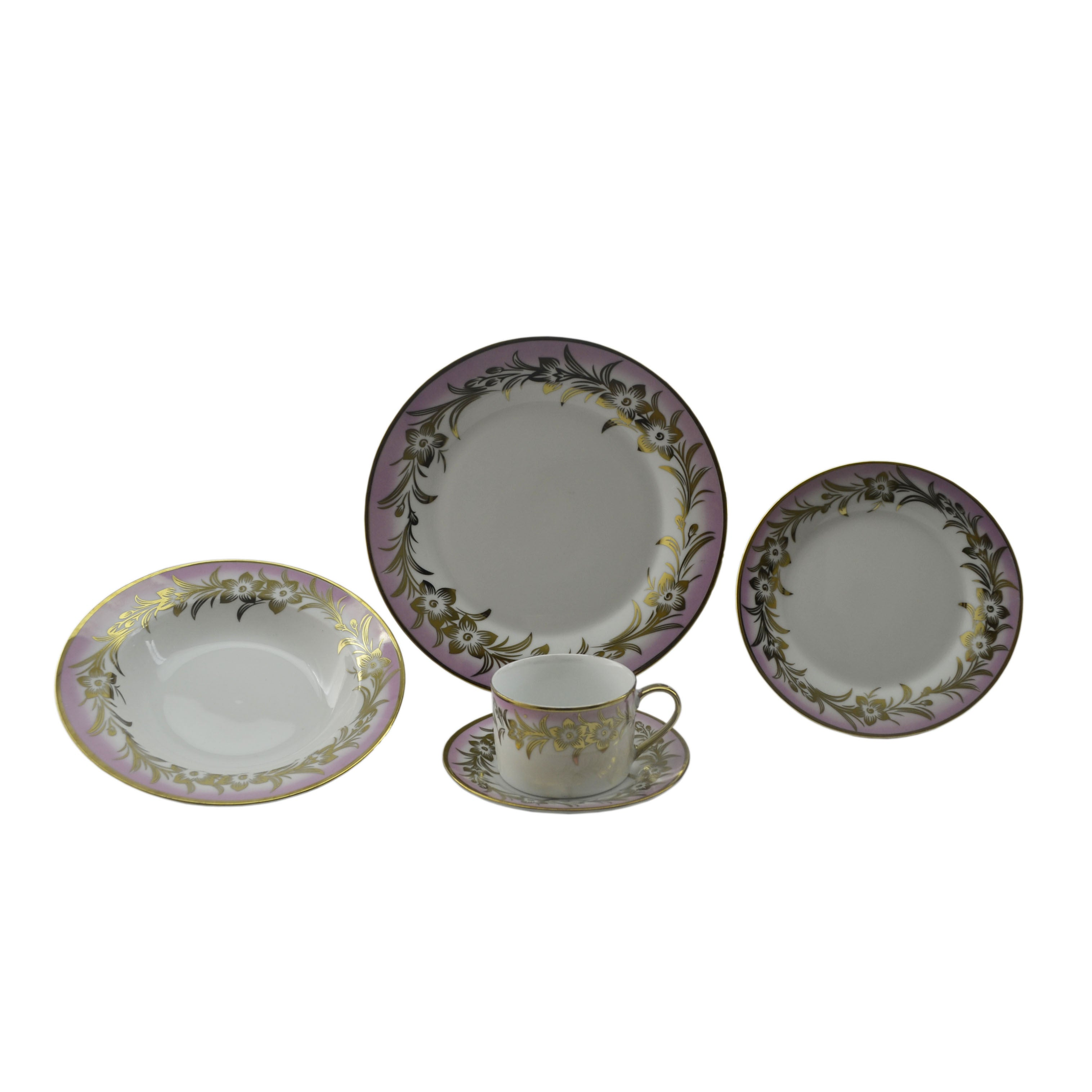 Patterned Dinnerware Sets Simple Design Ideas