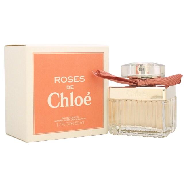 Shop Chloe Roses De Chloe Womens 17 Ounce Eau De Toilette Spray