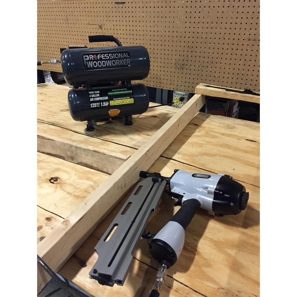 Professional Woodworker 21-degree Full Round Head Framing Nailer ...