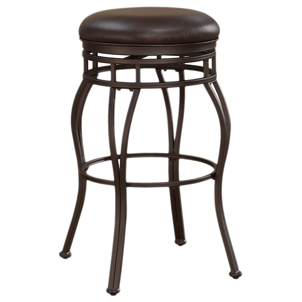 Shop valenti 34 inch backless extra tall bar stool by greyson living free shipping today overstock com 9397198
