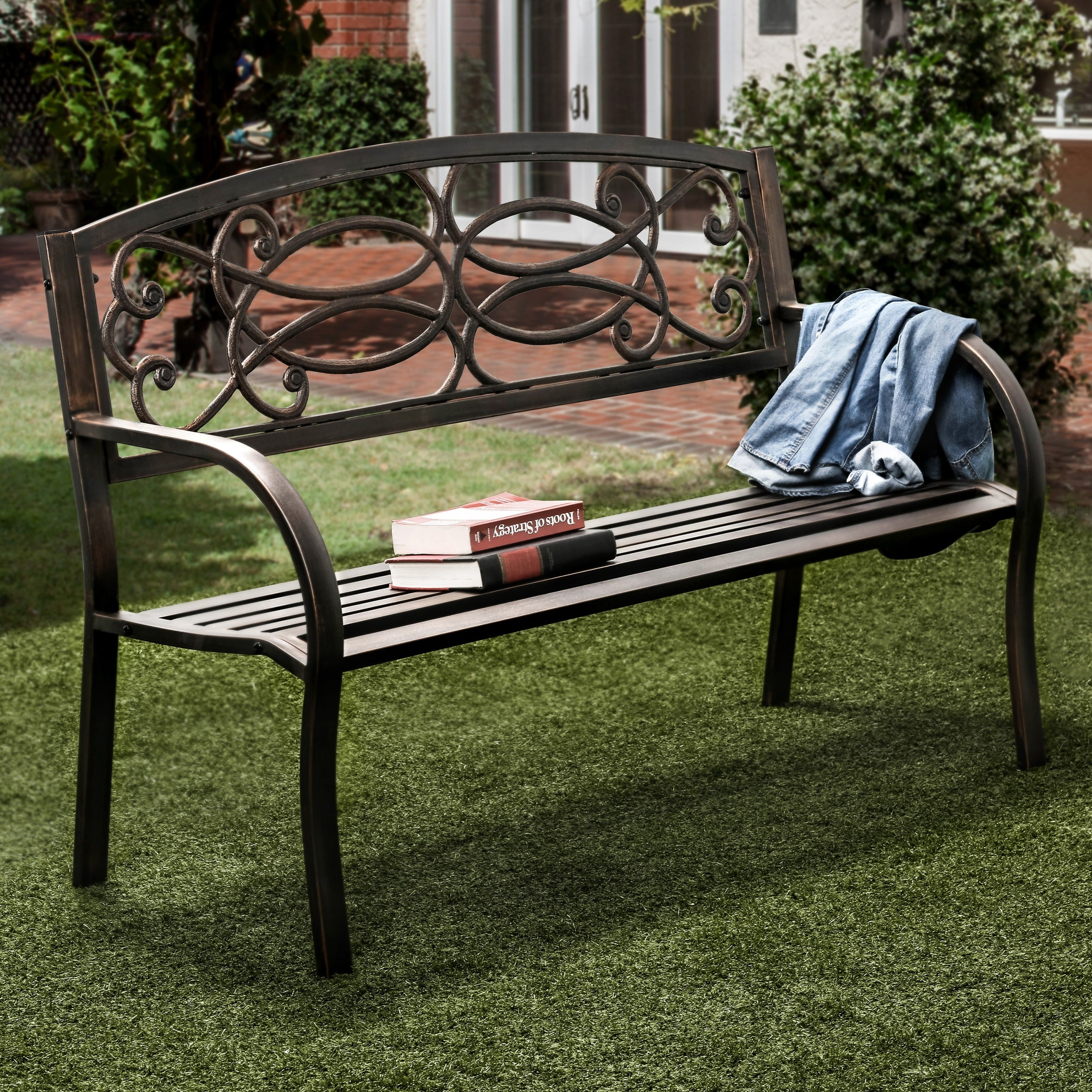 from best sets tempered products park piece benestuff choice ideas w for set bench furniture patio amazing com luxury wicker benches metal