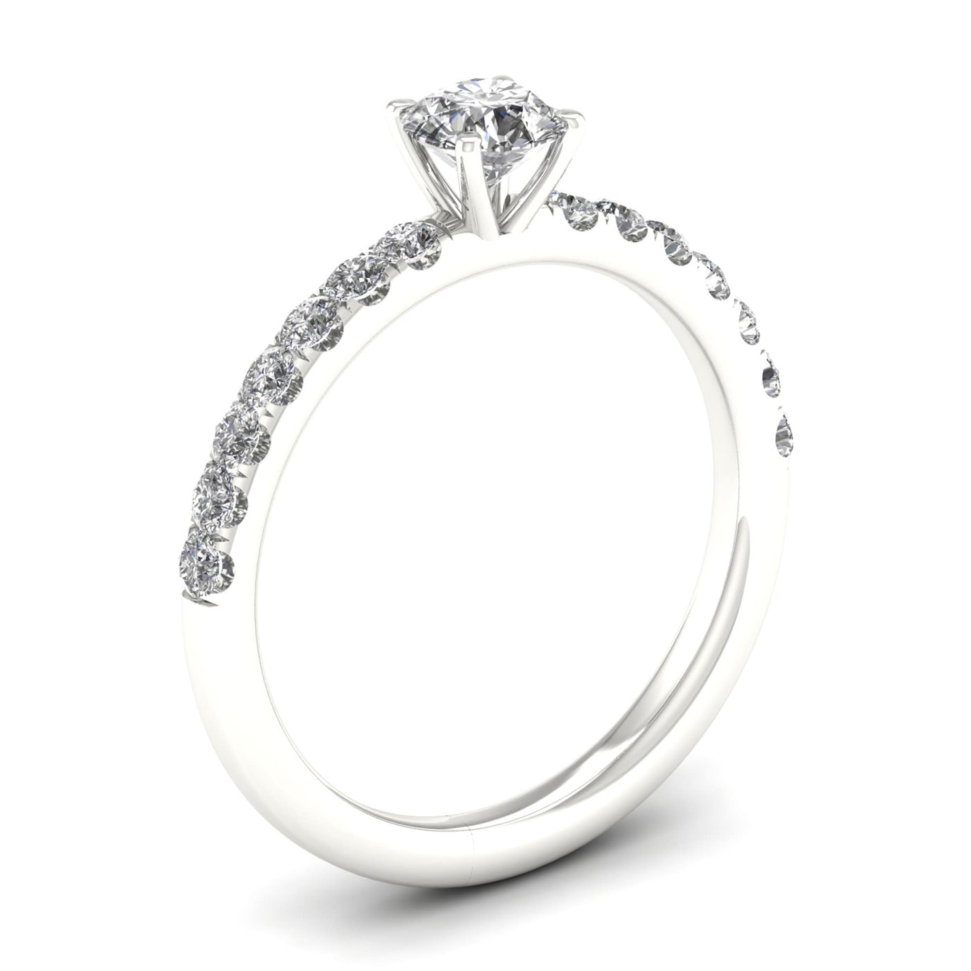 head diamond cathedral rings halo ring engagement contemporary wedding
