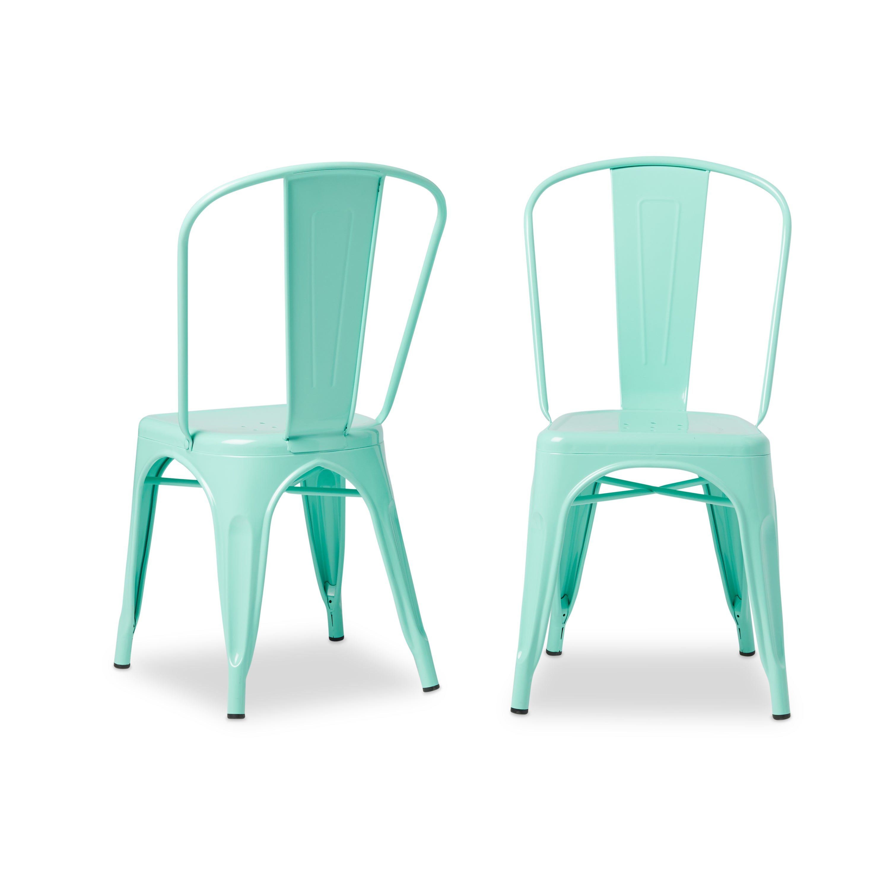 Shop Tabouret Bistro Dining Chair Hint Of Mint (Set Of 2)   Free Shipping  Today   Overstock.com   9412708